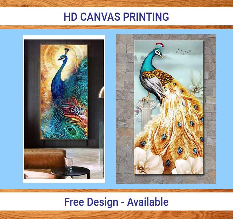 HD Canvas Printing