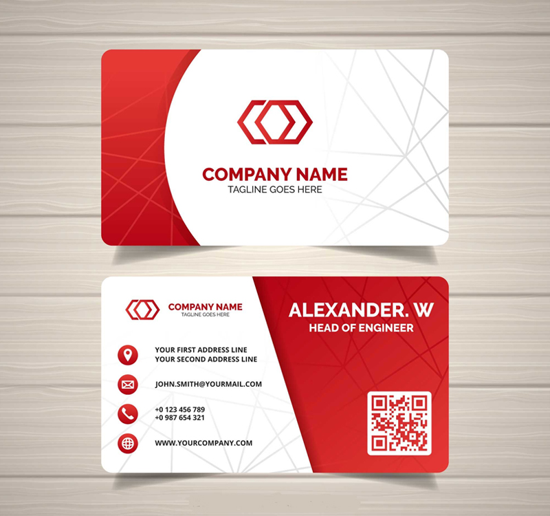 Instant Visiting Cards