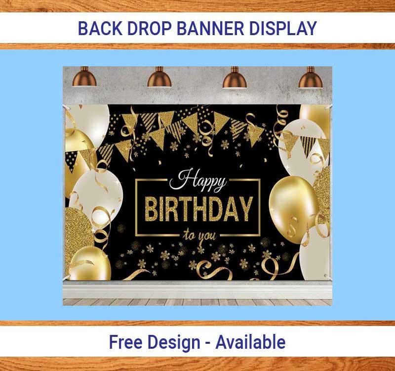 Backdrop Banner