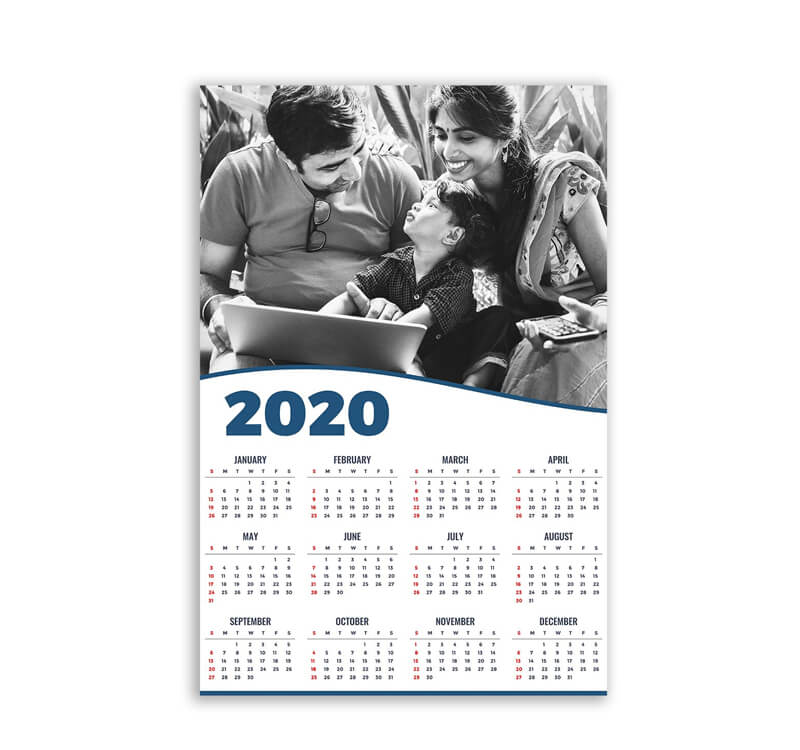 Customized Photo Calendar