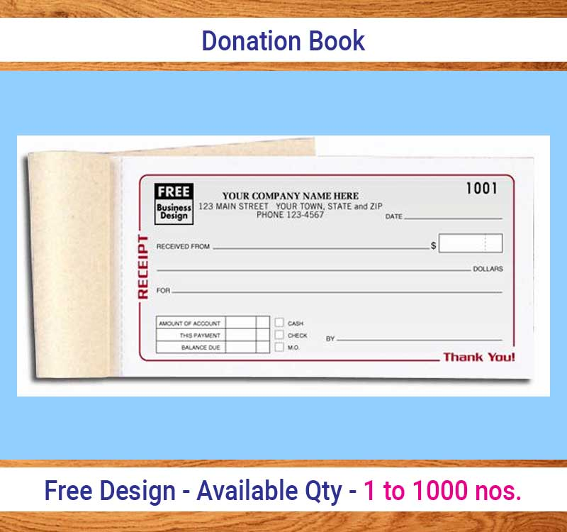 Donation Book