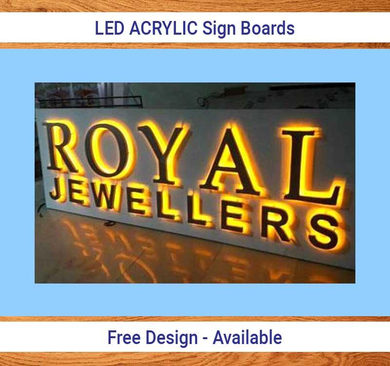LED Acrylic Board