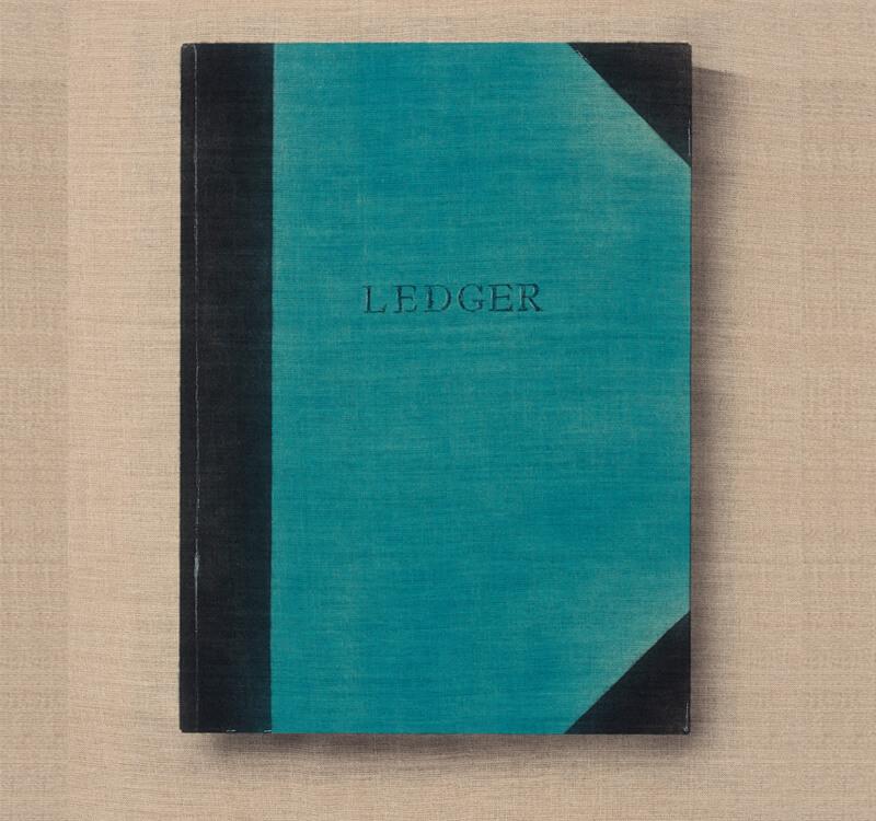 Ledger Book Binding