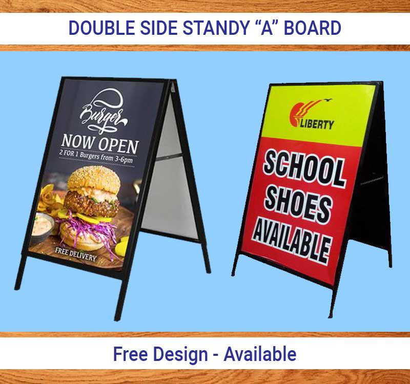 Double Side Standing Board