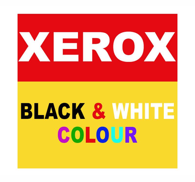 Xerox  –  Black & White and Colour