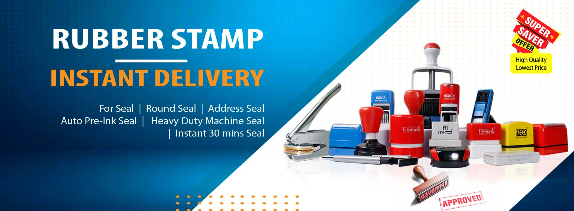 4 Rubber Stamp